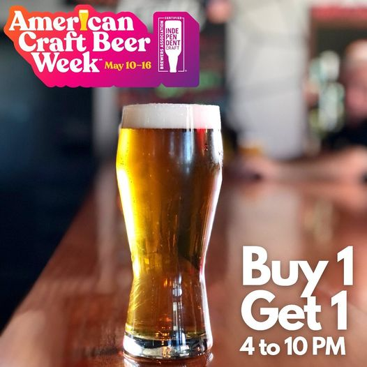 Let's kick off American Craft Beer Week at Fat Tap with our BoGo Tuesdays. Buy o